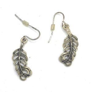 Detailed Feather Earrings (B27) 1610